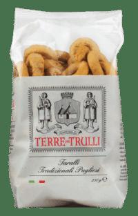 TERRE DIE TRULLI - Taralli Tradizionale - Salzgebäck mit nativem Olivenöl extra