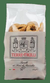 TERRE DIE TRULLI - Taralli ai Semi di Finocchio - Salzgebäck mit Fenchelsamen