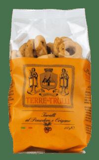 TERRE DIE TRULLI - Taralli al Pomodoro e Origano - Salzgebäck mit Tomate und Oregano