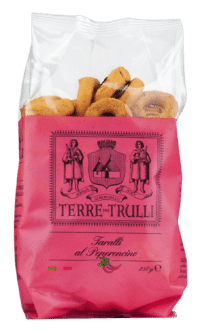 TERRE DIE TRULLI - Taralli al Peperoncino - Salzgebäck mit Chili