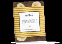 WILDBACH - Wildbach Schokolade – Bananensplit - Vollmilchschokolade 41% mit Bananenscheiben und Zartbitterraspeln