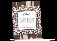 WILDBACH - Wildbach Schokolade – Cappucino - Feinste weisse Schokolade 28% und edle Vollmilchschokolade 38% mit gemahlenem Espressokaffee