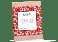 WILDBACH - Wildbach Schokolade – Erdbeer Crisp - Feinste weiße Schokolade mit Erdbeer- Reiscrisp