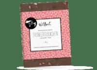 WILDBACH - Wildbach Schokolade – Erdbeerstückchen - Vegane Schokolade 41% mit Reissirup