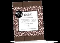 WILDBACH - Wildbach Schokolade – Espresso Crisp - Vegane Schokolade 48% mit Reissirup