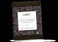 WILDBACH - Wildbach Schokolade – Für echte Männer - Edle Zartbitterschokolade 62% gefüllt mit Jamaika - Rum