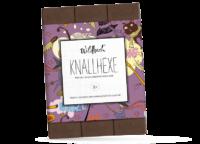WILDBACH - Wildbach Schokolade – Knallhexe - Edle Vollmilchschokolade 38% mit Brausegranulat