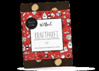 WILDBACH - Wildbach Schokolade – Kraftpaket - Edle Zartbitterschokolade 62% mit ganzen Haselnüssen