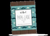 WILDBACH - Wildbach Schokolade – Papa Lade - Edle Vollmilchschokolade 38%