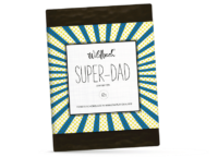 WILDBACH - Wildbach Schokolade – Super Dad - Edle Zartbitterschokolade 62%