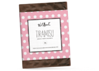 WILDBACH - Wildbach Schokolade – Tiramisu - Vollmilchschokolade 38% gefüllt mit Tiramisu-Sahne-Trüffel