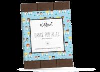 WILDBACH - Wildbach Schokolade – Danke für Alles - Edle Vollmilchschokolade 38%