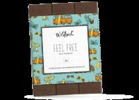 WILDBACH - Wildbach Schokolade – Feel Free - Edle Vollmilchschokolade 38%