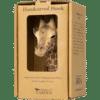 WILDLIFE GARDEN - Handgeschnitzter Haken – Giraffe - Wandhaken aus Holz