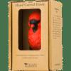 WILDLIFE GARDEN - Handgeschnitzter Haken – Rotkardinal - Wandhaken aus Holz