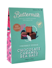 THE BUTTERMILK CONFECTIONERY & CO - Crumbly Chocolate Caramel Sea Salt - Krümeliges Buttertoffee in Schokolade