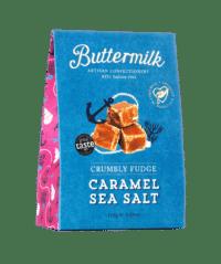 THE BUTTERMILK CONFECTIONERY & CO - Crumbly Fudge Caramel Sea Salt - Krümeliges Buttertoffee mit Meersalz