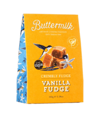 THE BUTTERMILK CONFECTIONERY & CO - Crumbly Fudge Vanilla - Krümeliges Buttertoffee mit Vanille