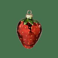 BUNGALOW - Erdbeere – Ornament - Aus Glas zum Aufhängen