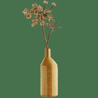 MADAM STOLTZ - Vase – Ochergelb