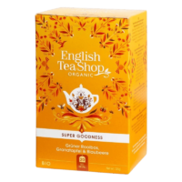 English Tea Shop - Grüner Rooibos, Granatapfel & Blaubeere – BIO Tee - 20 Beutel