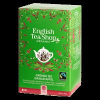 English Tea Shop - Grüner BIO Tee mit Granatapfel - 20 Beutel