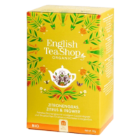 English Tea Shop - Zitronengras, Zitrus & Ingwer – BIO Tee - 20 Beutel