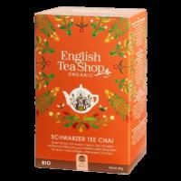English Tea Shop - Schwarzer BIO Tee – Chai - 20 Beutel