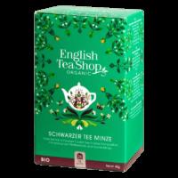 English Tea Shop - Schwarzer BIO Tee mit Minze - 20 Beutel