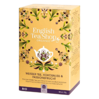 English Tea Shop - Weißer Tee, Kokosnuss & Passionsfrucht – BIO - 20 Beutel