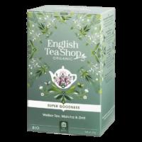 English Tea Shop - Weißer Tee, Matcha & Zimt – BIO - 20 Beutel