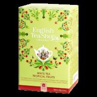 English Tea Shop - Weißer BIO Tee – Tropische Früchte - 20 Beutel