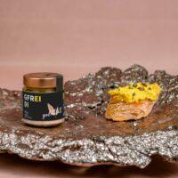 GOLDBLATT - Gfrei di – VEGANER Brotaufstrich - wie Eiersalat mit Gurkerl