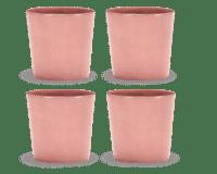 SERAX-OTTOLENGHI - OTTOLENGHI – FEAST Coffee Cups 25 cl FEAST – Delicious Pink - 4er Set ø 7.5 x H7.5 CM