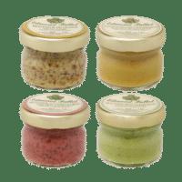 EDMOND FALLOT - FALLOT Dijon Senf Mini Mix - 4 mini Kreationen