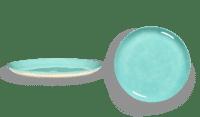 SERAX-OTTOLENGHI - OTTOLENGHI – FEAST Teller L – Azure - 2er SET ø 26 x H2CM