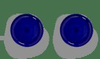 SERAX-OTTOLENGHI - OTTOLENGHI – FEAST Teller M – Lapis Lazuli - 2er SET ø 22 x H2CM
