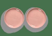 SERAX-OTTOLENGHI - OTTOLENGHI – FEAST Teller S – Delicious Pink - 2er SET ø 19 x H2 CM