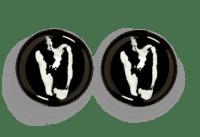 SERAX-OTTOLENGHI - OTTOLENGHI – FEAST  Teller S – Black + Pepper White - 2er SET ø 19 x H2 CM