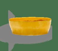 SERAX-OTTOLENGHI - OTTOLENGHI – FEAST Salatschüssel – Sunny Yellow + Stripes Red - ø 27.5 x H9.5 CM