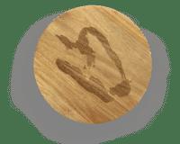 SERAX-OTTOLENGHI - OTTOLENGHI – FEAST Servierbrett S – Pepper - Small- ø 35 x H1.8 CM