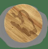 SERAX-OTTOLENGHI - OTTOLENGHI – FEAST Servierbrett M – Pepper - Medium- ø 45 x H1.8 CM