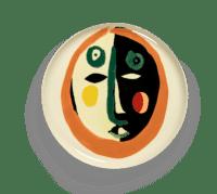 SERAX-OTTOLENGHI - OTTOLENGHI – FEAST Servierteller – Face 2 - ø 35 x H2 CM