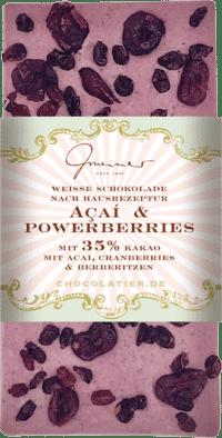 Gmeiner - Gmeiner Schokolade – Açai & Powerberries - mit 35% Kakao