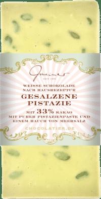 Gmeiner - Gmeiner Schokolade – Gesalzene Pistazie - mit 33% Kakao