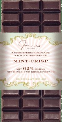 Gmeiner - Gmeiner Schokolade – Mint Crisp - mit 62% Kakao