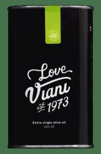 VIANI - Olivenöl 'gentle love' - Mildfruchtiges natives Olivenöl extra