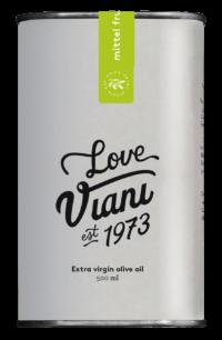 VIANI - Olivenöl 'true love' - Mittelfruchtiges natives Olivenöl extra