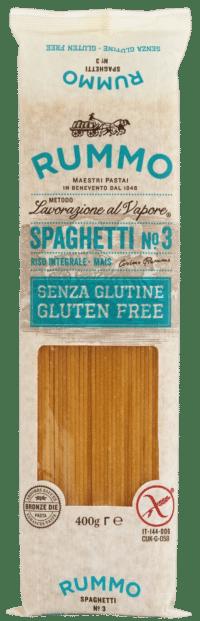 RUMMO - Glutenfreie Spaghetti No. 3 - Glutenfreie Nudeln