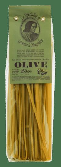 LORENZO IL MAGNIFICO - Fettuccine mit Oliven - Nudeln aus Hartweizengrieß mit Oliven